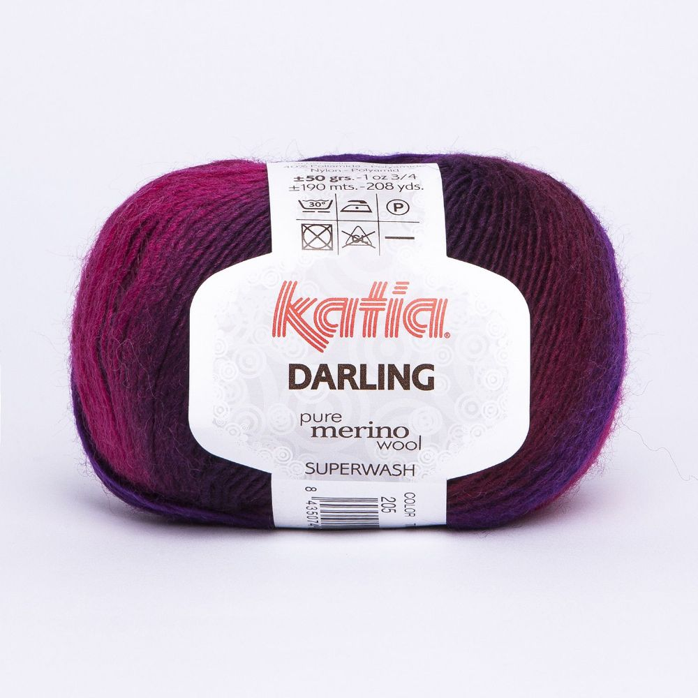 Katia Darling - Blend of reds, purples and black